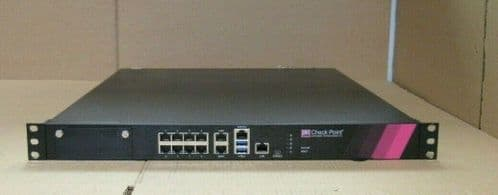 Checkpoint 5600 Security Gateway Appliance Firewall Rackmount PL-20 2x PS